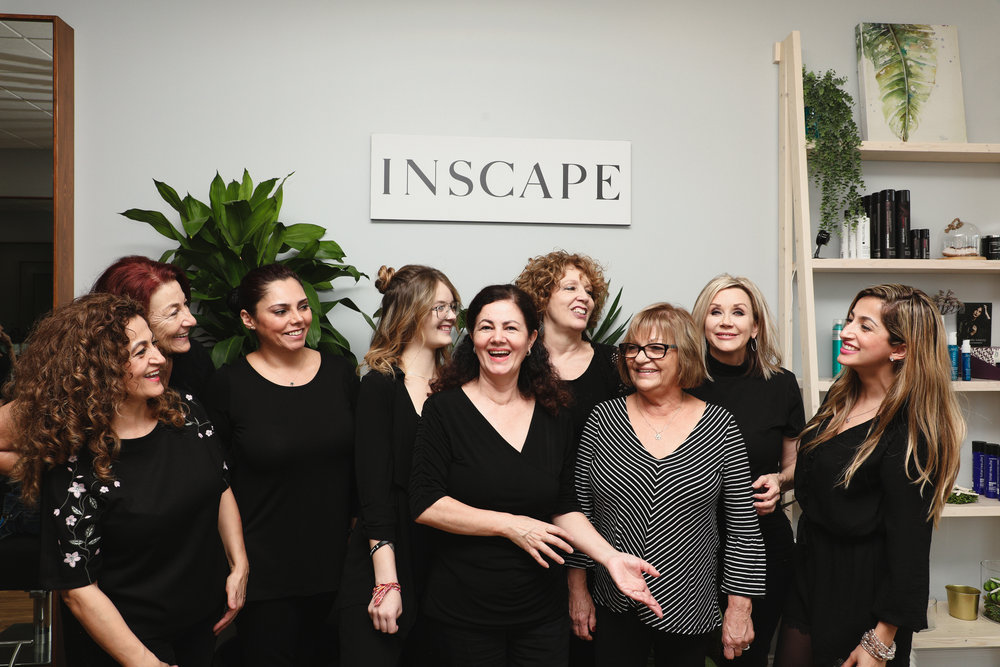 The Inscape Beauty Team.