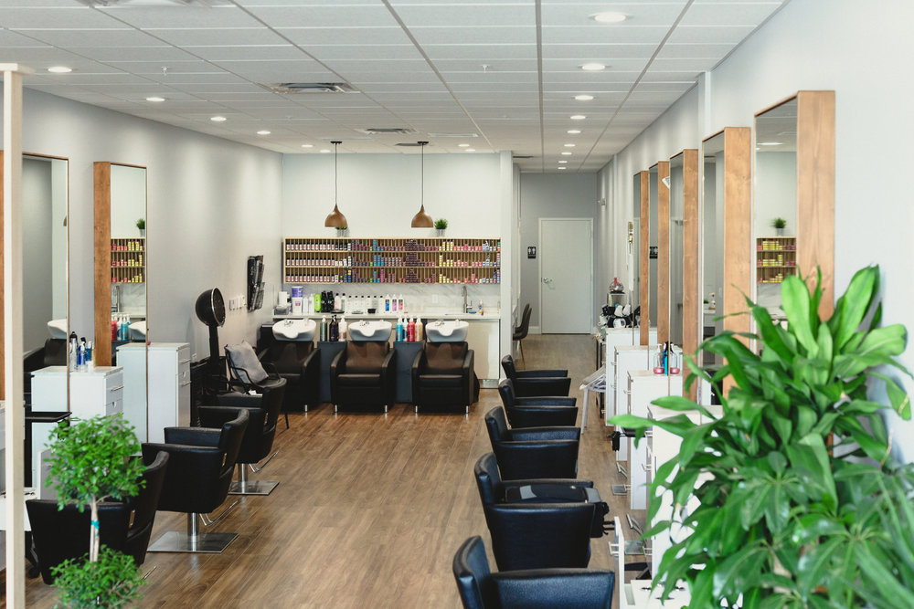 Enter into the Oasis at Inscape Beauty Salon.