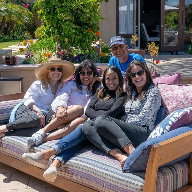 Exterior install day! Clients popped back early, opportunity to take a break and lounge on their new @christian_liaigre Filao sofa. Photo courtesy of our electrician �. #designer #exteriorfurnitures #exteriordesign #outdoorlife #designideas #inspiration #interiordesign #delmar #ranchosantafe #installation #greatclients #businesswomen