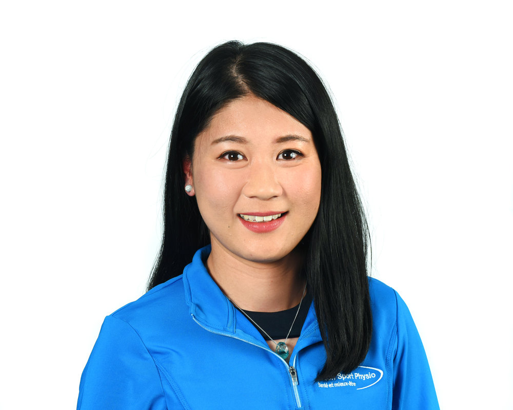 Stéphanie Liu - Athletic Therapist and Massage TherapistB.Sc., CAT(C), SFR.