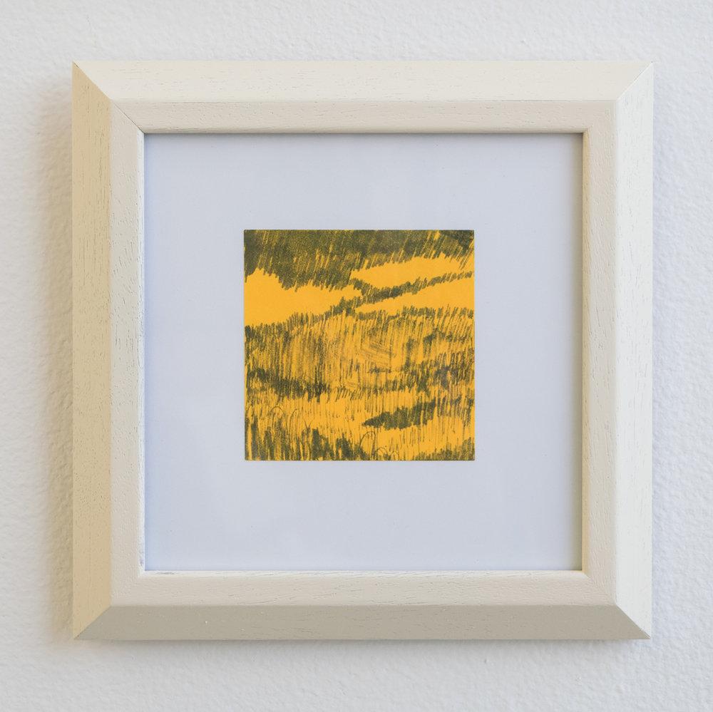 Landscape on Post-it #2, 2018