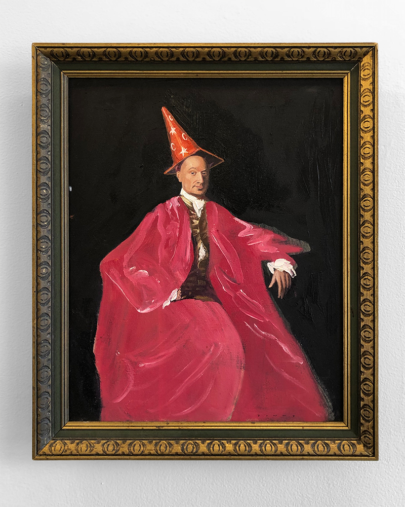 """Portrait of a Wizard"", 2018"