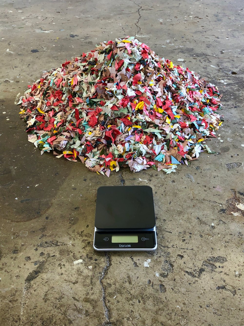 Introduction to a Pile of Confetti, 2018, Natalia DaSilva