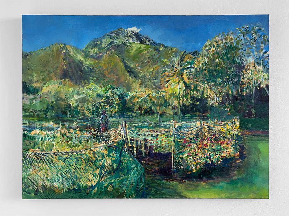 """The Gardens at Waipā"", 2018 by Solomon Enos"