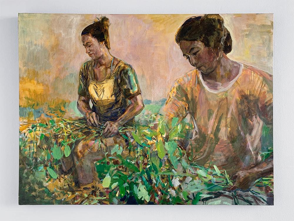 """Soybean Conversation"", 2018 by Solomon Enos"