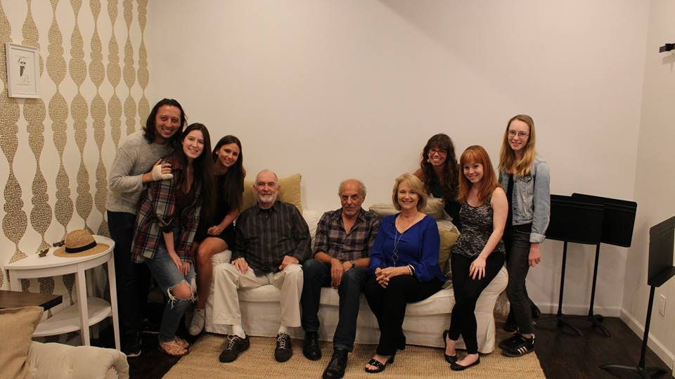 Group photo from a reading of The April Hour by Jonathan Smit with Athena Theatre at theDramatists Guild Foundation on Sept 28th.