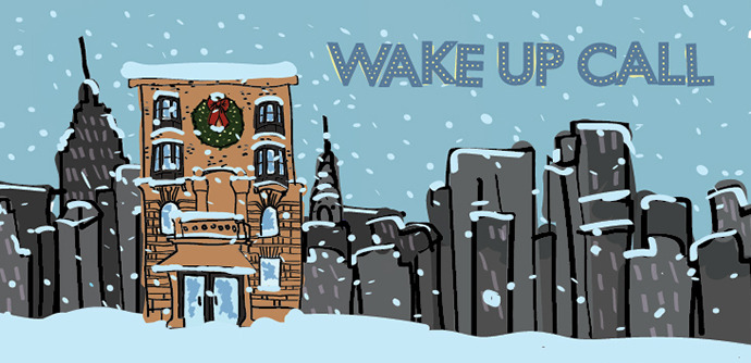Tickets now available for  Wake Up Call . Co-written by me and Adam Thomas Smith. Dec 9th - 18th at IRT Theater!