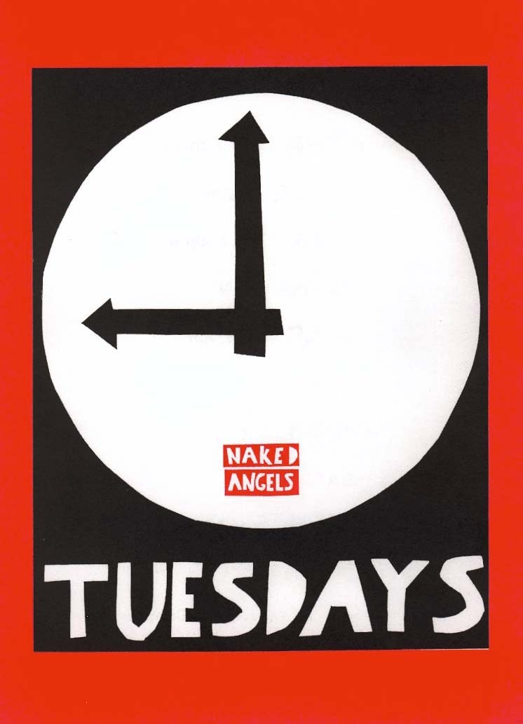 April 26th @ 9 PM Theatre Under St. Marks  An excerpt from my play Wake Up Call , will be read at Naked Angels' Tuesdays@9 for their InsideOut night. Actors write and writers act.