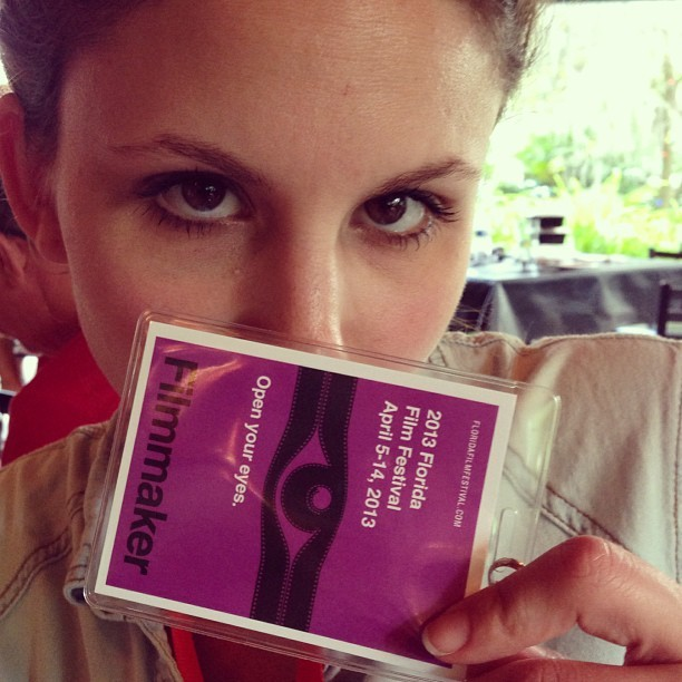#filmmaker @floridafilmfest (at Enzian Theater)