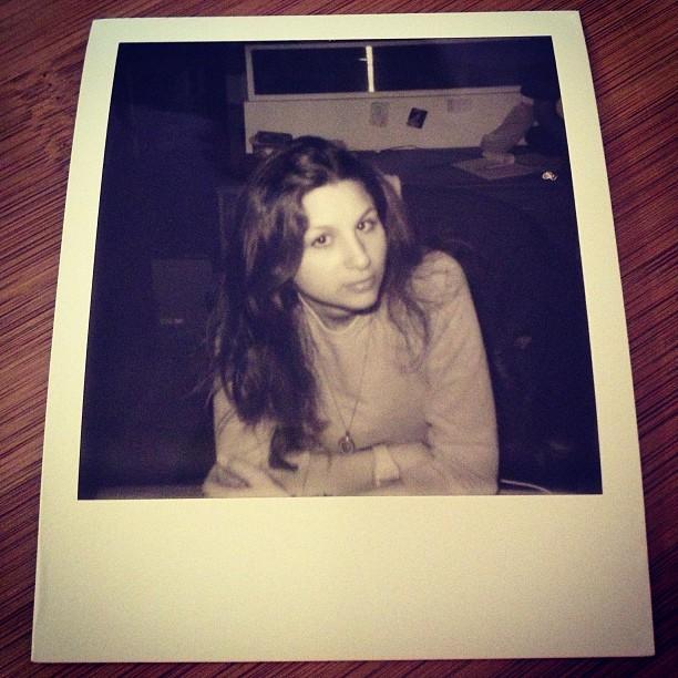 Polaroid portrait. credit: @jersey_jinx (at Decon)