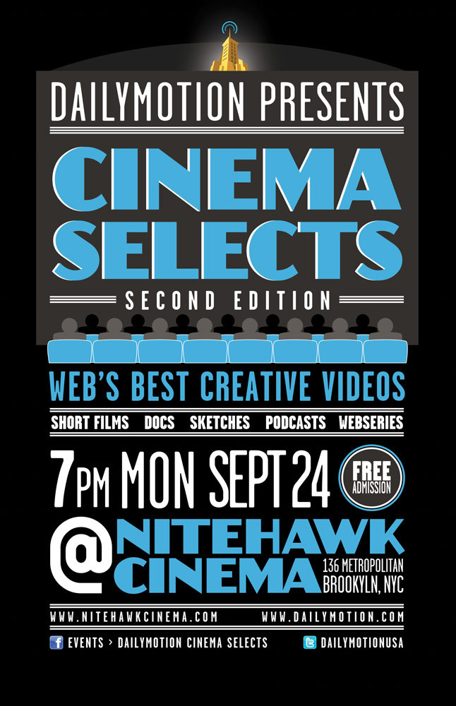 JACKED  is back at  Nitehawk Cinema ! Join us for  Daily Motion's Cinema Selects  series on September 24th at 7:00 PM. Admission is free and they have a great beer selection so come hang with us.