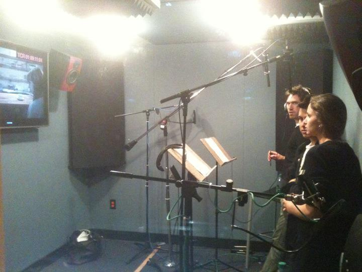 ADR session for Sharp Love, Sharp Kittens.  Almost ready for festival submission.