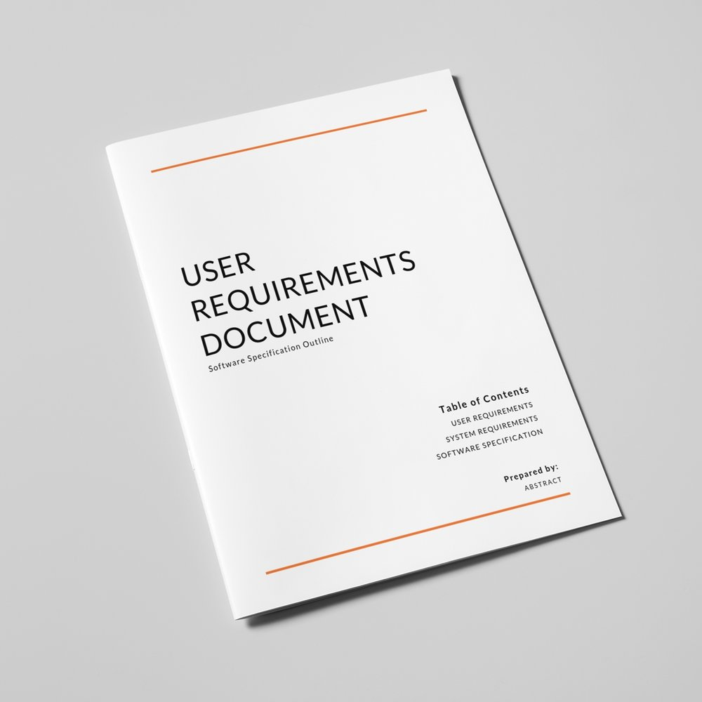 User Requirements Documentation: - The best software does exactly what you expect it to. Whether your goal is to streamline a business process, create a unique experience for your customers, or anything in between, executing your vision requires careful and exhaustive planning. With that in mind, we encourage each of our clients to complete a comprehensive project documentation before they've even signed on for a full project. This process produces three essential documents: