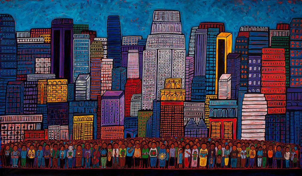 city of angels, 2011, 38x24