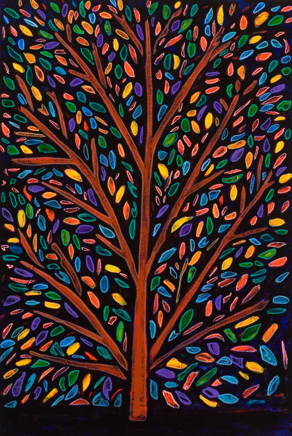 arbol, 2009, 24x35