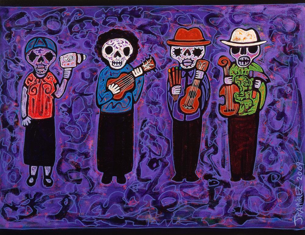 artesanos, 2009, 38x30