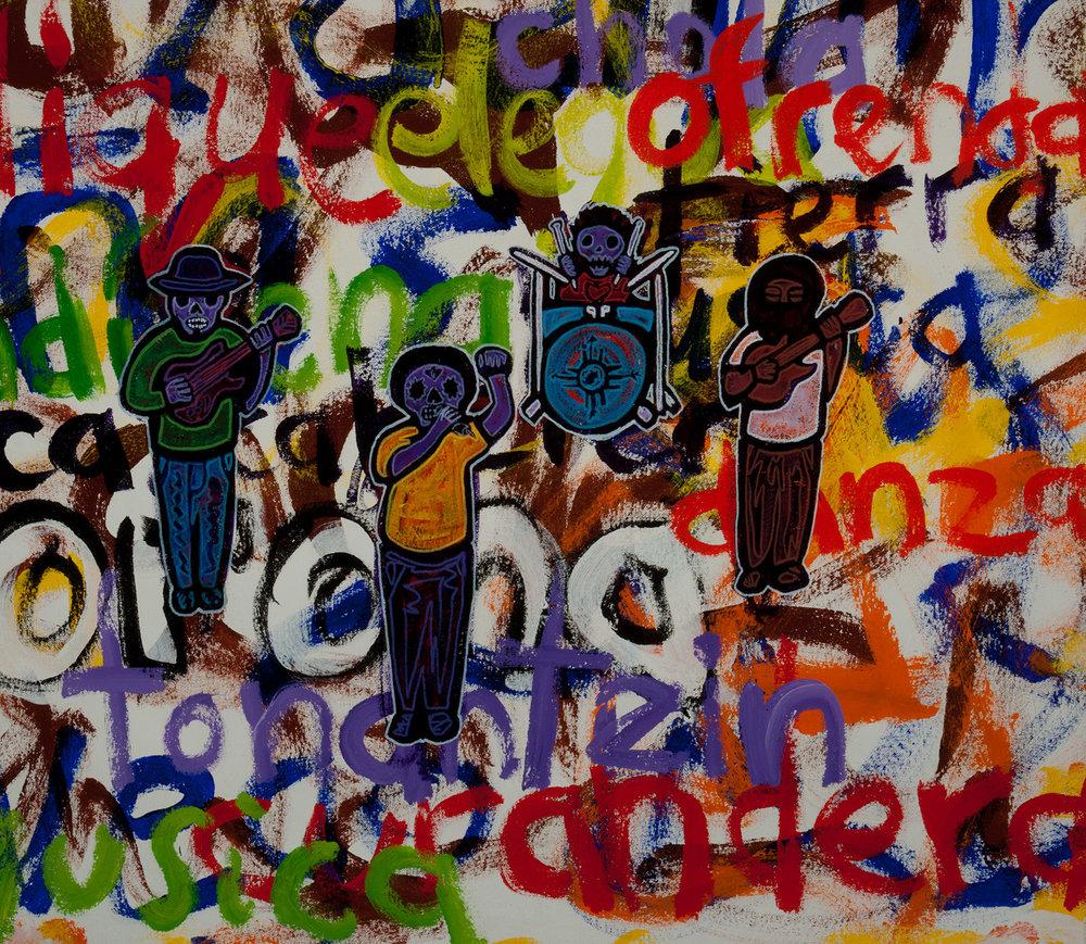 aztlan underground, 2010, 30x26