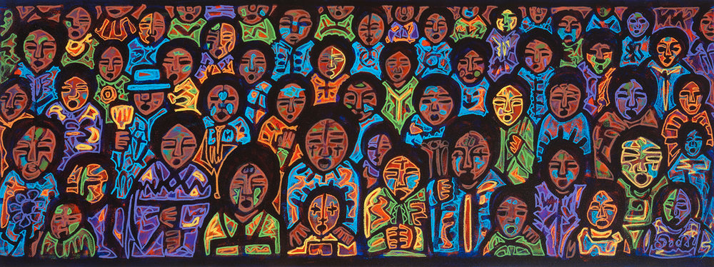 gente, 2011, 40x15