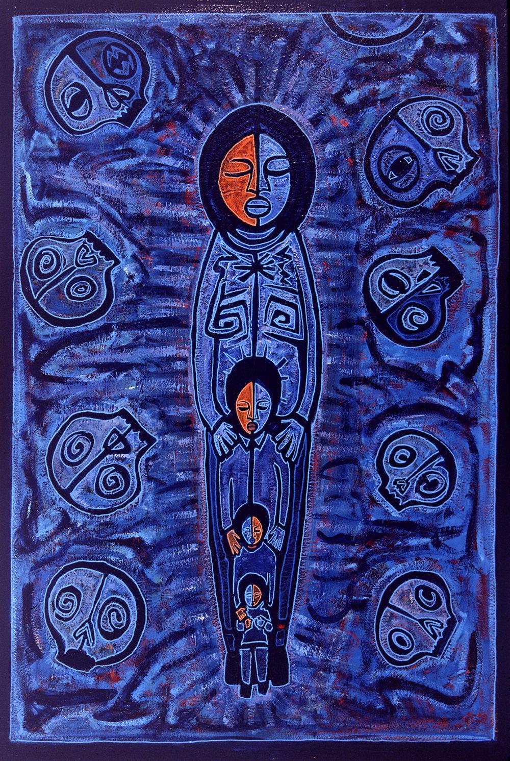 madre calaka, 2005, 33x48