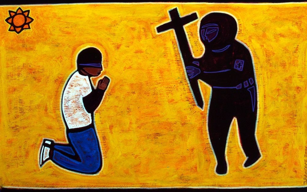 obey, 2006, 25x17