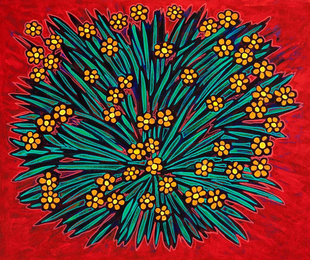 chamomile, 2010, 12x11