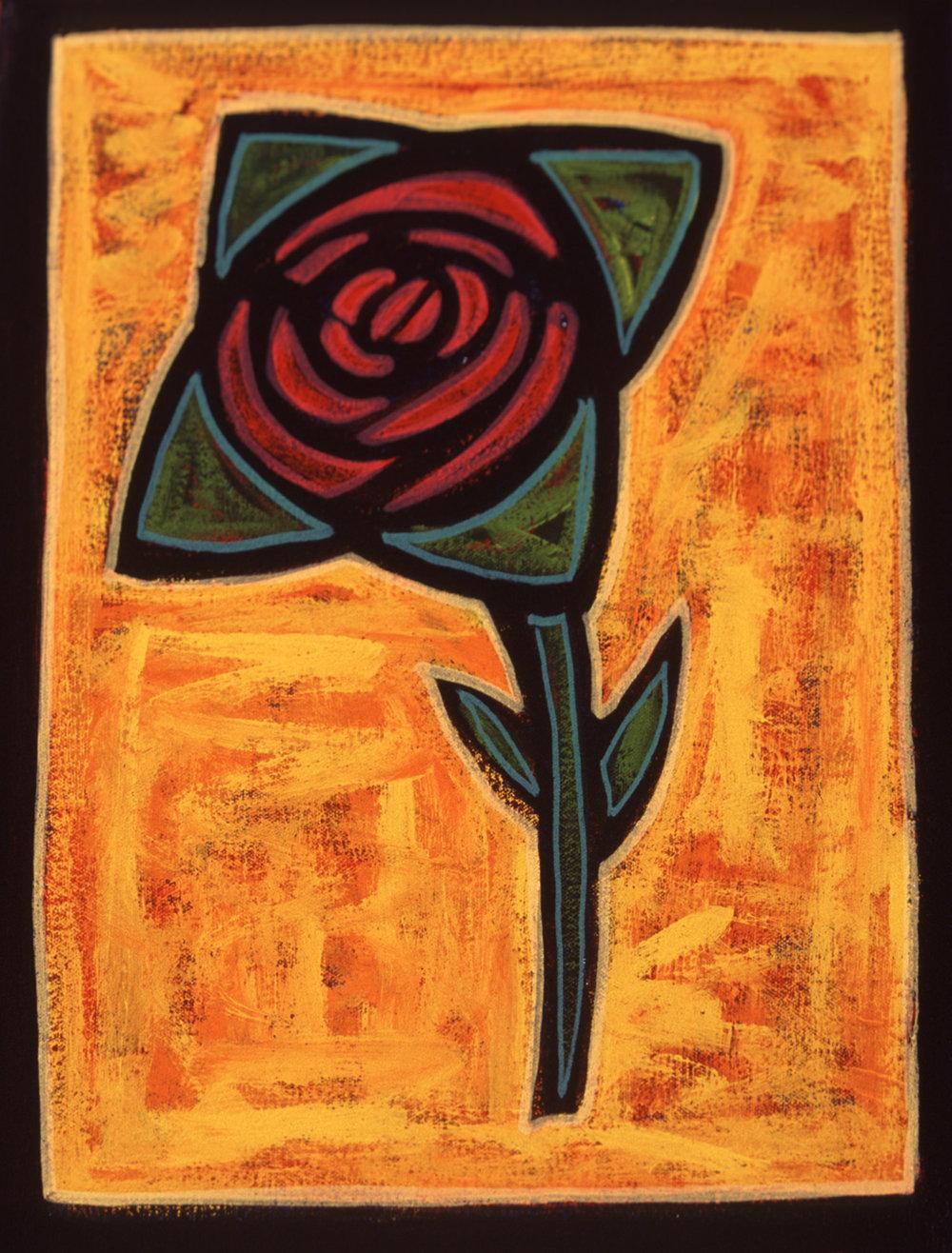 flor, 2004, 7x9