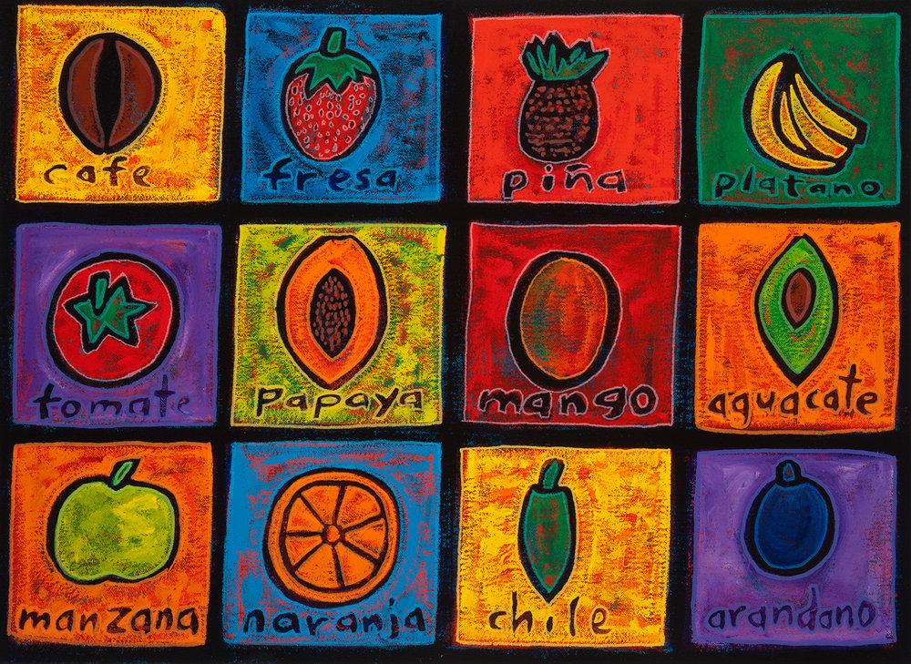fruta, 2011, 16x12