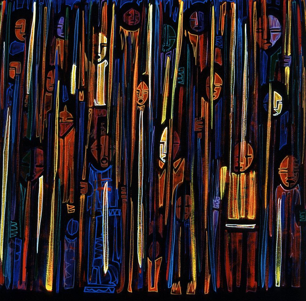 invisible, 2002, 13x13