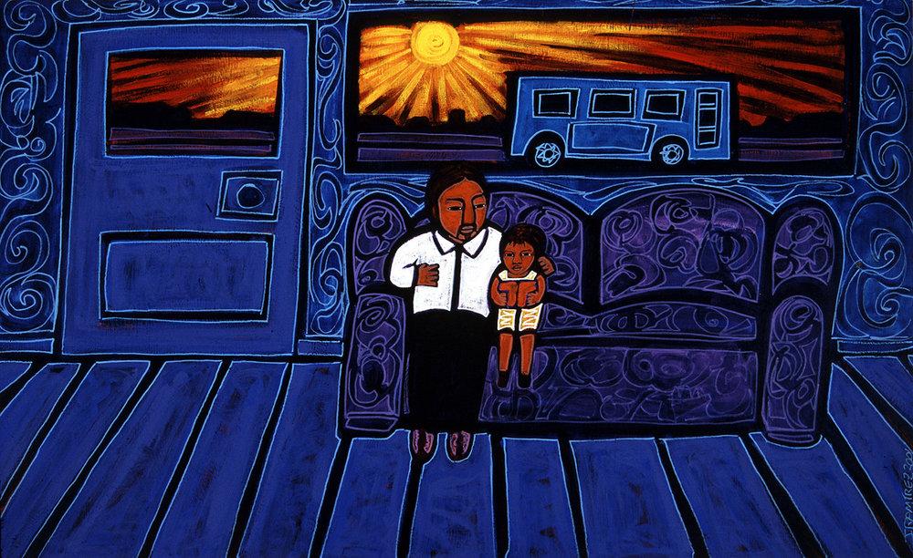 latino literacy, 2001, 11x9