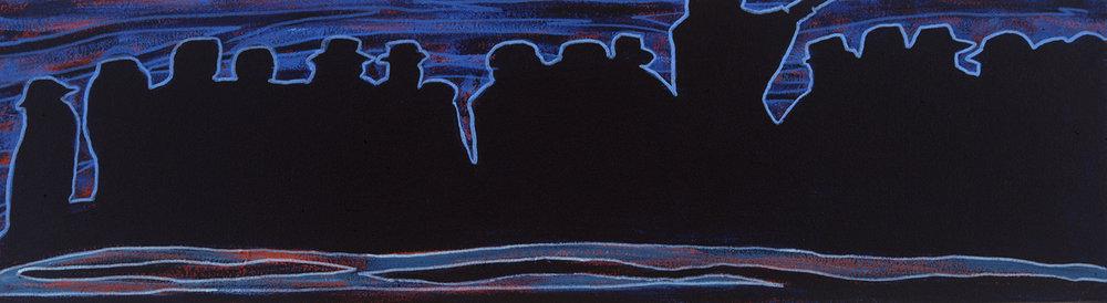 blues marcha, 2003, 12x5