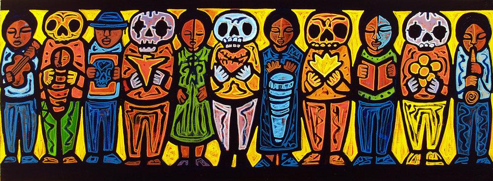 spirits among us, 2007, 17x9