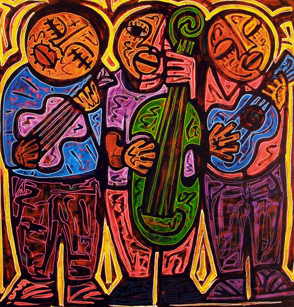 trio, 2006, 12x13