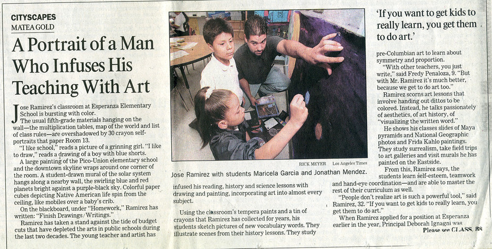 Article from LA Times, 2000.