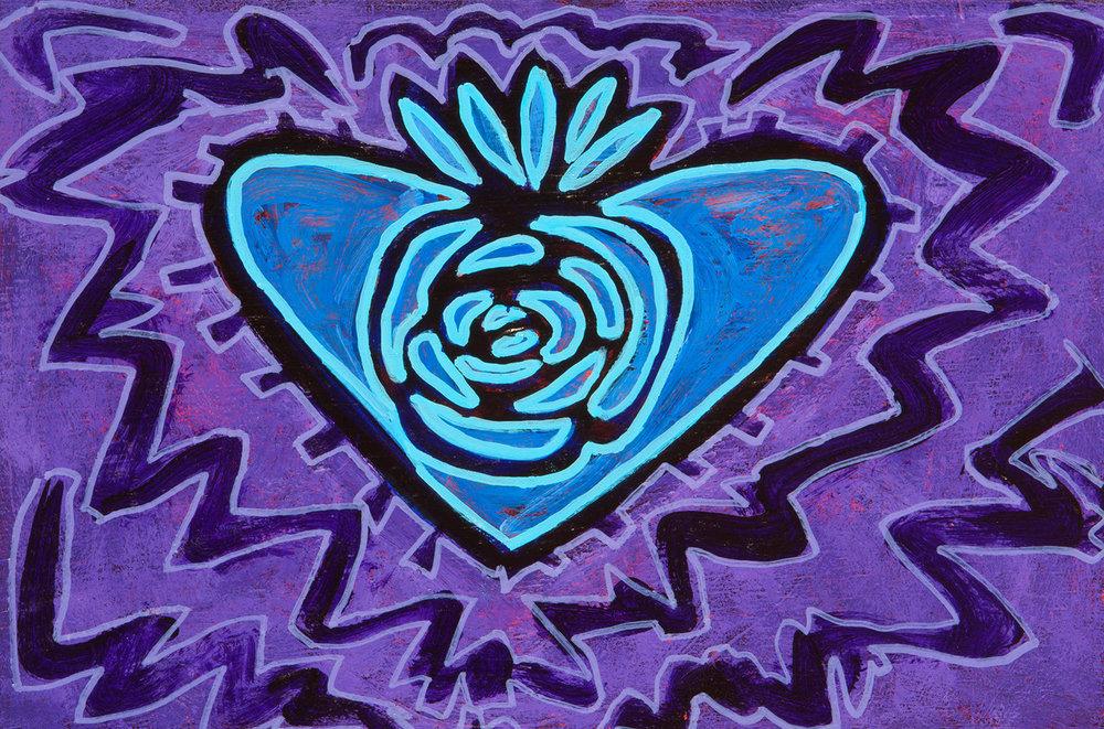 corazon azul, 2013