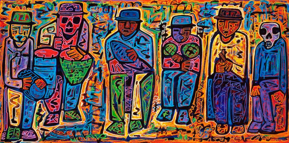 percussionists, 2013
