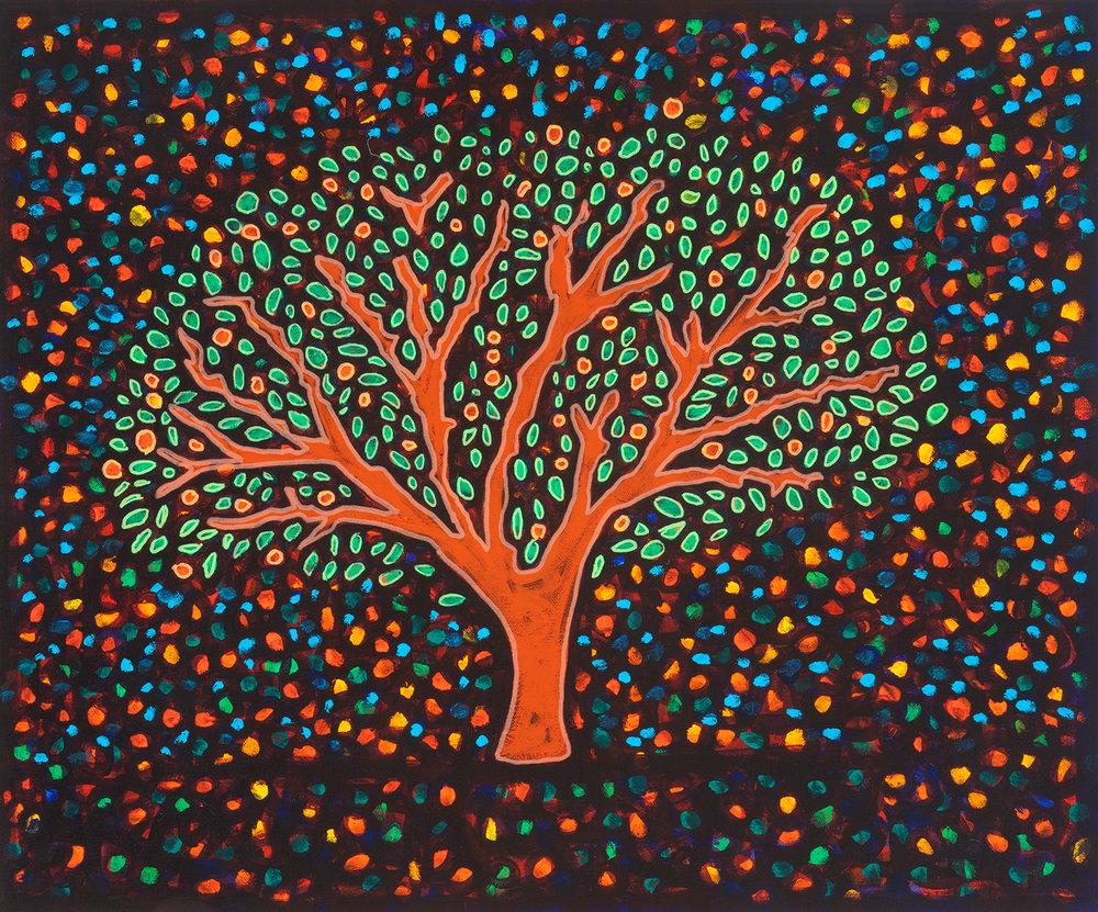 arbol de noche, 2011