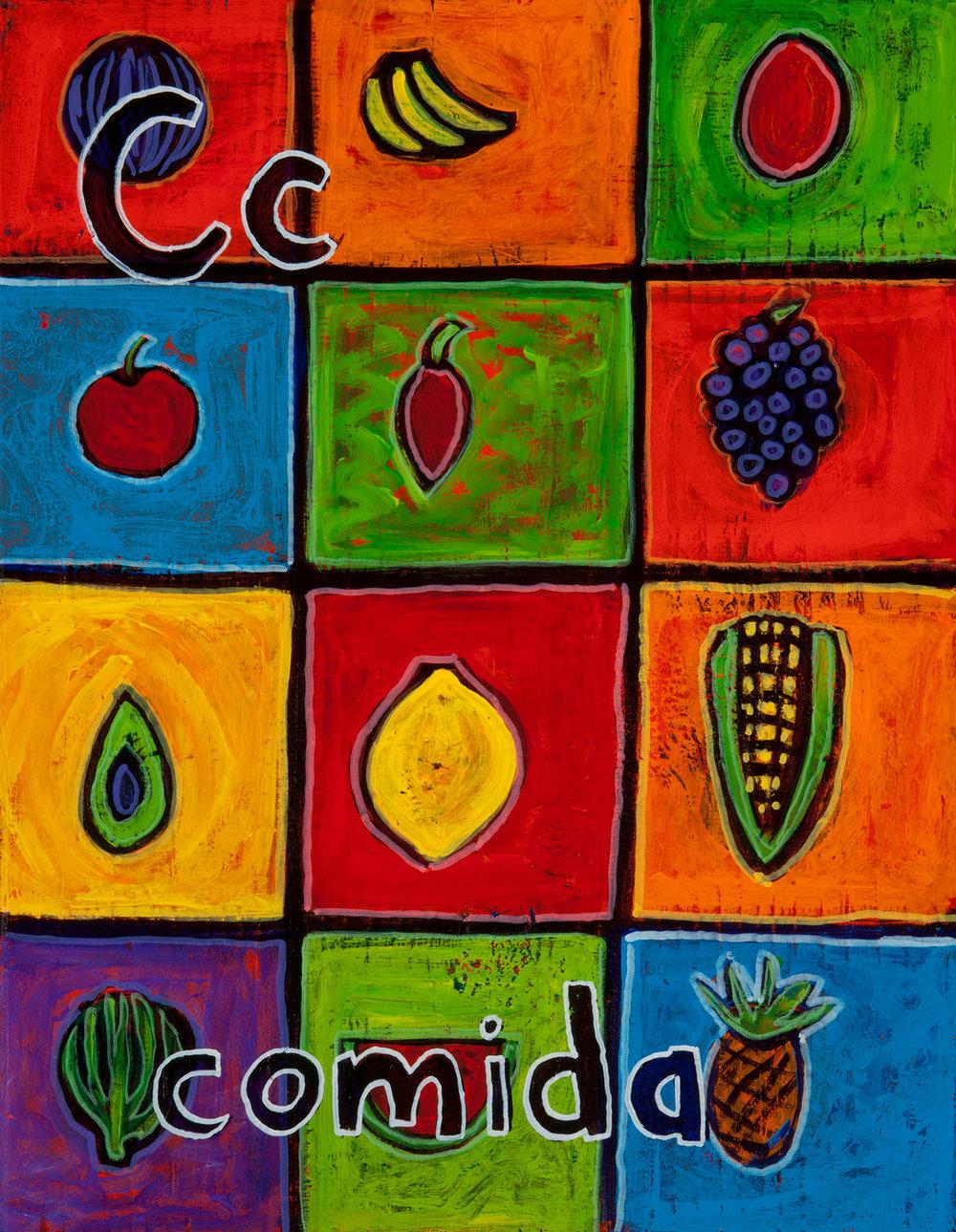 (C), comida, 2011