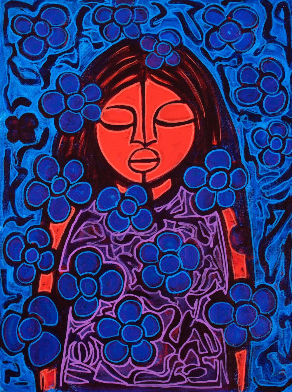 mujer azul (usc)