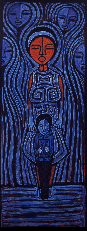 mama azul