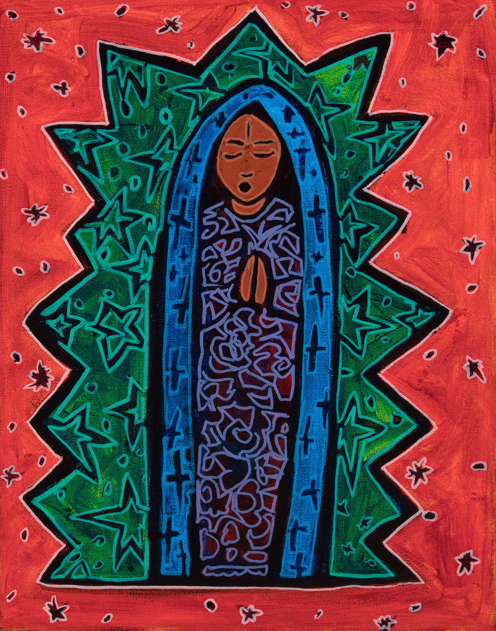 guadalupe, 2018, 11x14