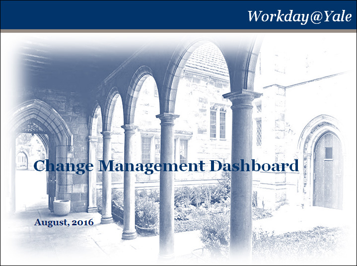 Yale: Workday Programs
