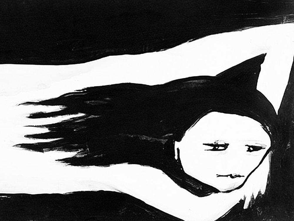 Detail from  Girl © 1957 Joy Hester