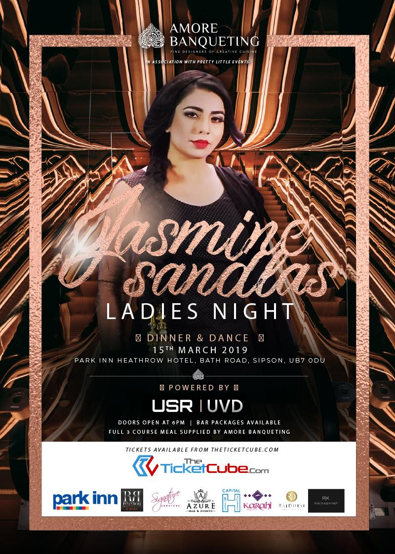 amore banqueting in association with pretty little events - jasmine sandlas | ladies night