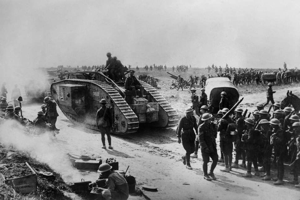 Amiens in August 1918 – major turning point in the War