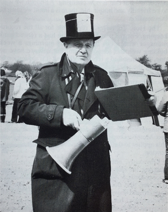 Oliver Philpot on boat marshalling duties at the Met c. 1980