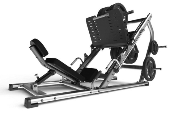 45 degree leg press - 1 requiredCode GG