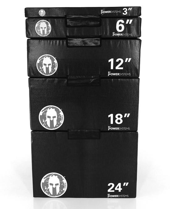 5 Unit Soft Plyo Box Set - LRC brandedCode VV