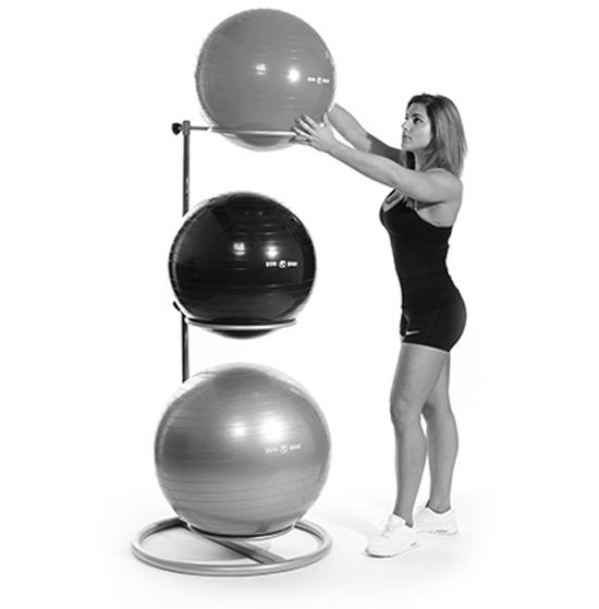 Ball Stacker Ring (2) & 3 Gym balls - 2 requiredCode ZZZ