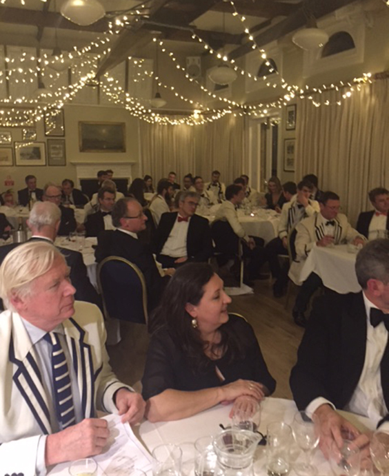 The Annual Dinner on the 25th January, was, as usual, attended by a good number of Irregulars and great fun was had by all.