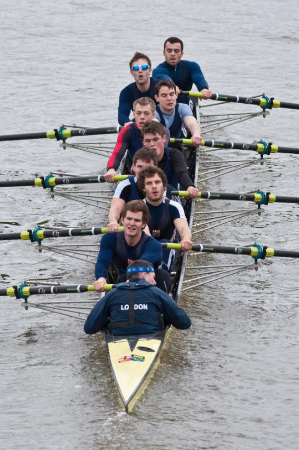 LRC 3rd VIII  Cox Jackson, Stroke Dwan, 7 Bale, 6 Calnan, 5 Higgs, 4 Schmidt, 3 Mitchell, 2 Hobson, Bow Maitland
